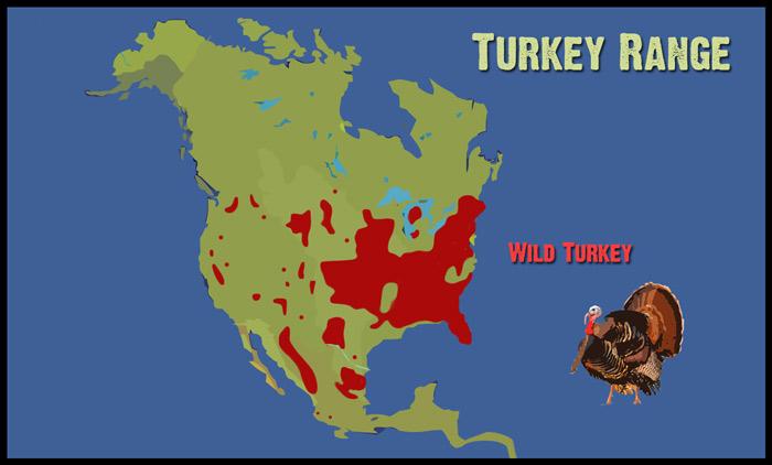 Turkey-Range-Map