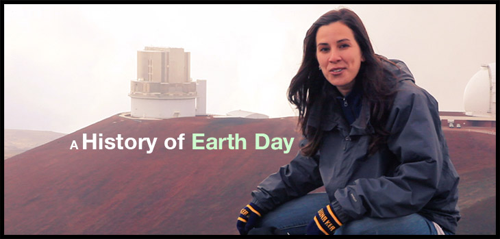 short history of earth day