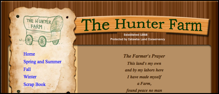 hunterfarmwebsite