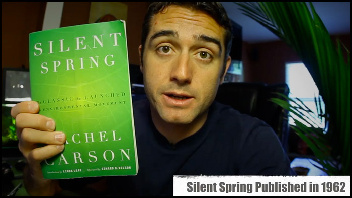 earth day history - silent spring book