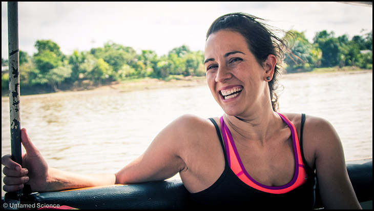 Haley Chamberlain in the Amazon
