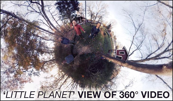 LITTLE-PLANET 360 DEGREE VIDEO TUTORIAL