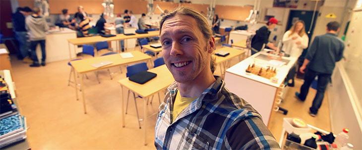 jonas stenstrom teacher face