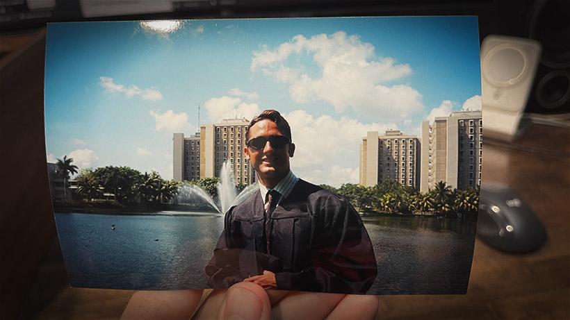 Rob Nelson graduation University of Miami
